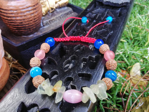 Attract Abundance in Your Life Amulet Talisman Handmade Braided Bracelet - LifeIsPureMagic