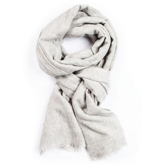 Close to my heart MIE GRAND Scarf Light Grey