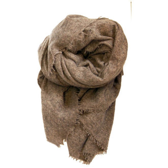 Close to my heart PEMBA scarf Scarf Brown melange