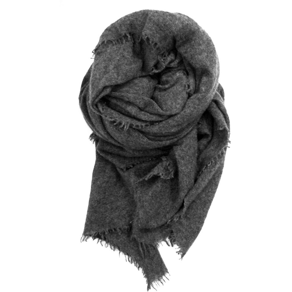 Close to my heart PEMBA scarf Scarf Dark Grey Melange