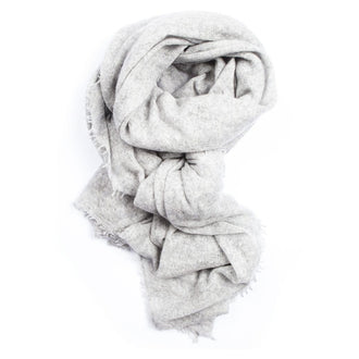 Close to my heart PEMBA scarf Scarf Light Grey Melange