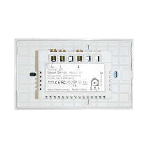 Smart Double Gang WiFi Switch - AU Approved Comes with 3Yrs Wty