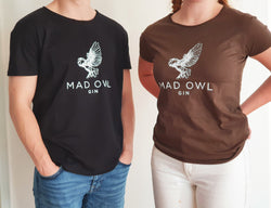 T-shirt: Mad Owl Gin - Dame