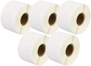 Prestige Cartridge™ Compatible 99018 Small Lever Arch Labels Rolls (110 Labels per Roll) for Dymo LabelWriter & Seiko Smart Label Printers (38mm x 190mm) - Prestige Cartridge
