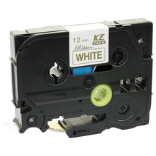 Load image into Gallery viewer, Prestige Cartridge™ Compatible TZeR234 Gold on White Label Tape (12mm x 4m) for Brother P-Touch Serial Label Printing Machines - Prestige Cartridge