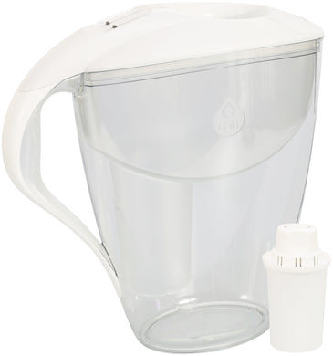 Water Filter Jug Dafi Astra Classic 3.0L with Free Filter Cartridge - White - Prestige Cartridge