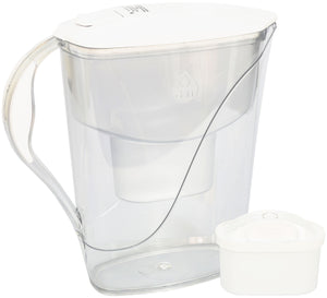 Water Filter Jug Dafi Luna Unimax 3.3L with Free Filter Cartridge - White - Prestige Cartridge
