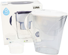 Load image into Gallery viewer, Water Filter Jug Dafi Luna Unimax 3.3L with Free Filter Cartridge - White - Prestige Cartridge