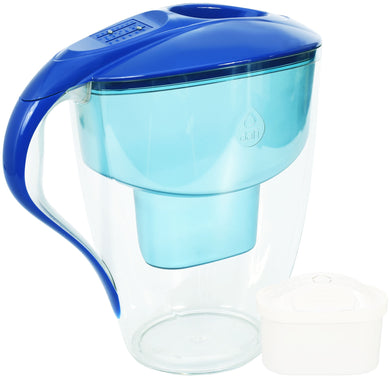 Water Filter Jug Dafi Omega Unimax 4.0L with Free Filter Cartridge - Blue - Prestige Cartridge