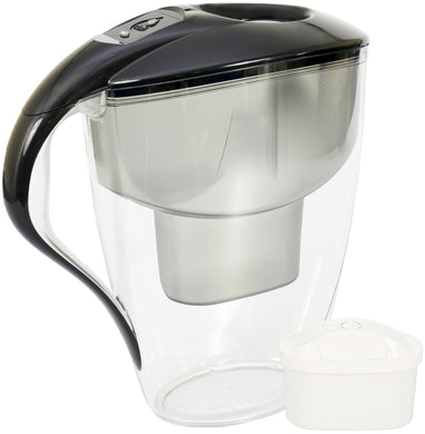 Water Filter Jug Dafi Omega Unimax 4.0L LED with Free Filter Cartridge - Graphite - Prestige Cartridge