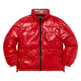 Shiny Reversible Puffy Jacket