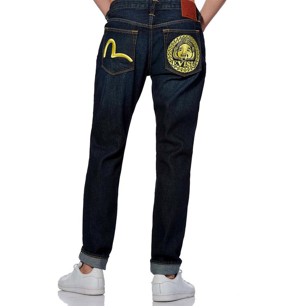 Godhead Embroidered Jeans