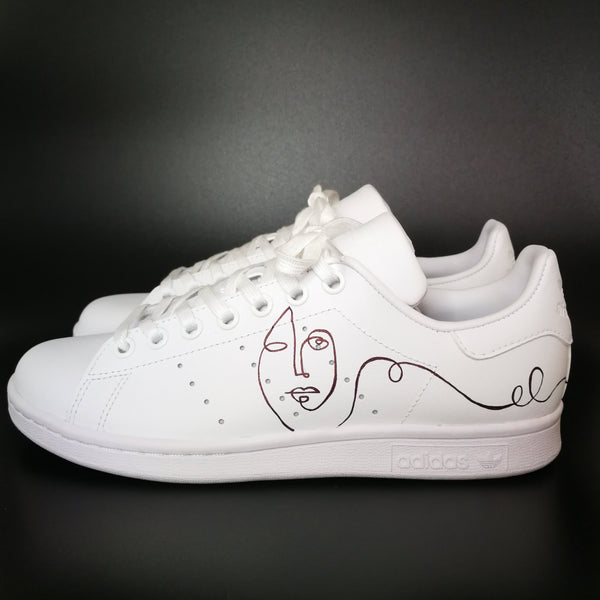 Adidas Stan Smith custom ART