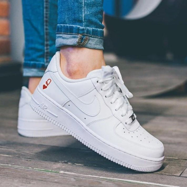 air force 1 coeur rouge
