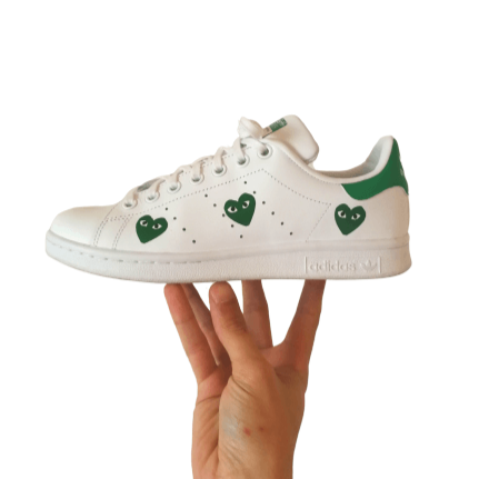 customisation adidas stan smith coeur