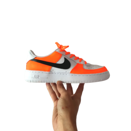 nike custom orange fluo
