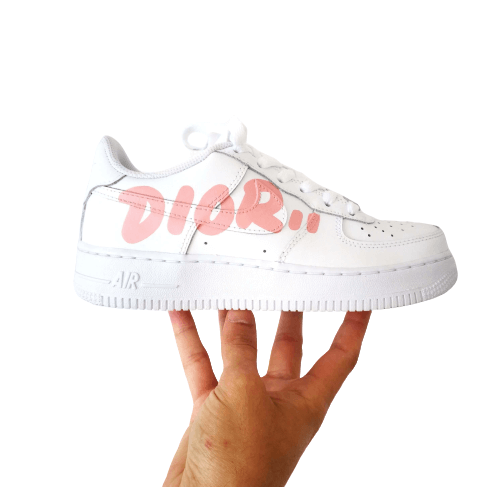 Nike Air Force 1 custom DIOR