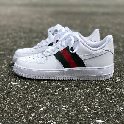 customisation sneakers nike gucci