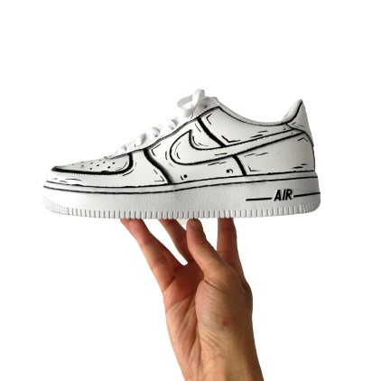 NIKE AF1 CUSTOM CARTOON