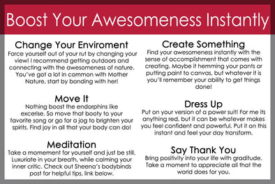 Rediscovering Your Awesomeness