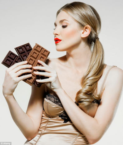 The Sexy Benefits of Eating Dark Chocolate