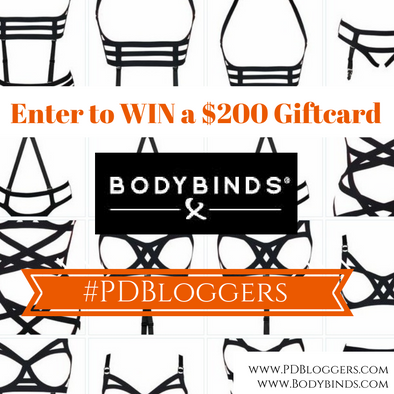 Bodybinds and #PDBloggers GIVEAWAY!!!!
