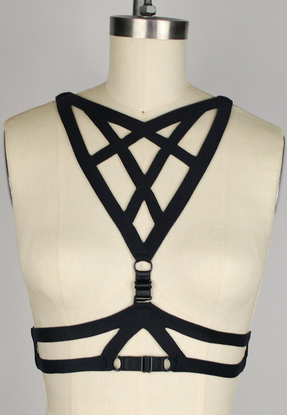Anna Reversible Harness Top