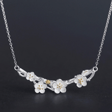 Load image into Gallery viewer, Cherry Blossom Whispers Necklace