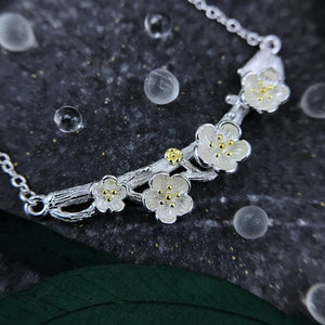 Cherry Blossom Whispers Necklace