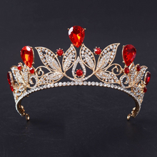 Load image into Gallery viewer, Bold in Red & Gold Crown