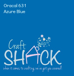 Oracal Vinyl 631 - AZURE BLUE