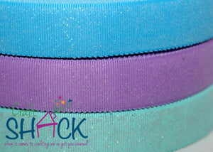 "1"" Glitter Coated Ribbon - CLEARANCE"