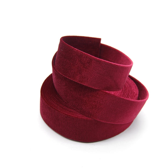 Velvet Double Sided Ribbon 1.25