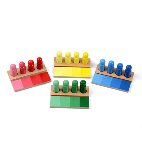 montessori color sorting toy