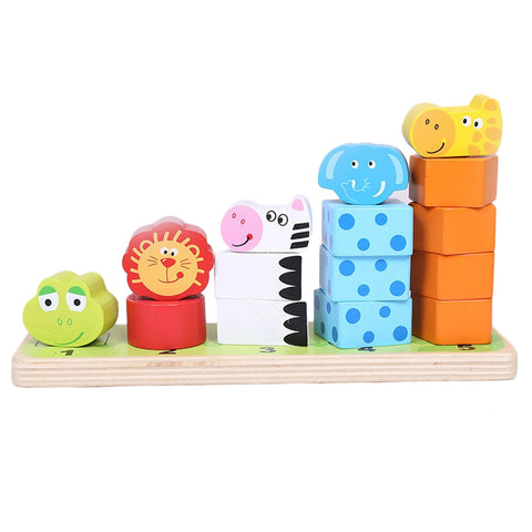 montessori animal stacking blocks for toddlers