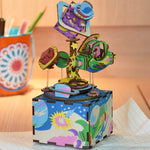 3d DIY Space Music Box Puzzle front view