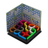 Isometric view on crazy curve toy
