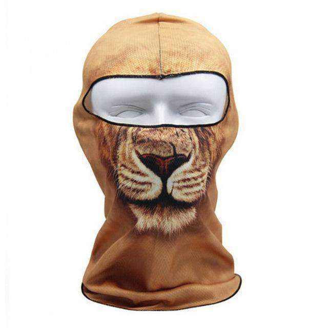 3D Animal Full Face Mask - 5 - Animal Face Mask - Deal Builder