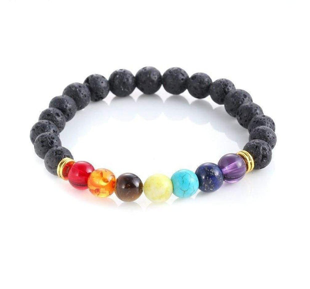 Deal Builder  -  7 Chakra Diffuser Bracelet  -   -  Jewelry