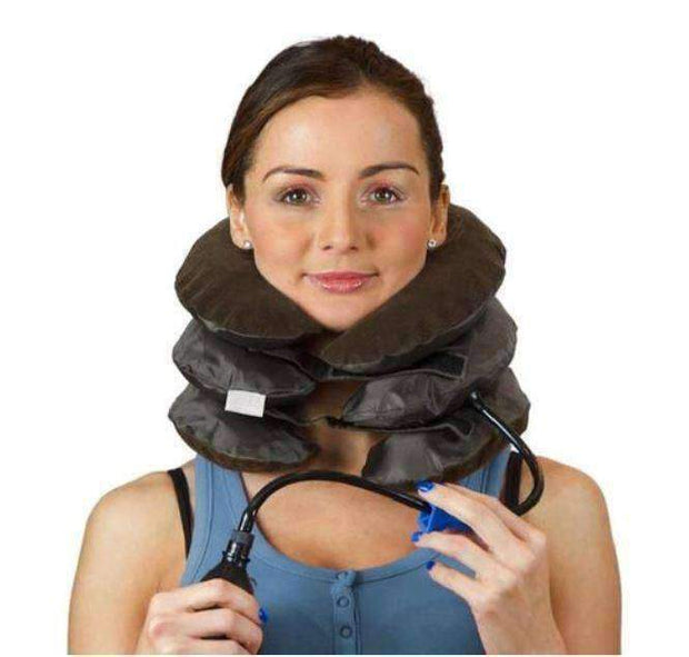 Deal Builder  -  Air Neck Therapy Pain Reliever Posture Improvement  -  Brown  -  Neck Therapy