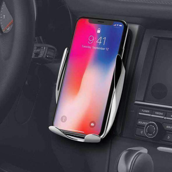 Deal Builder  -  Auto Clamping Wireless Charging Phone Mount  -  Wireless Charger  -  Cell Phone Mount