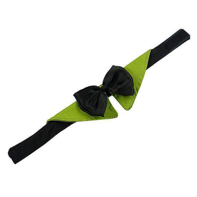 Woof Toys™ Pet Bowtie Collar - Green / S - Pet Collar - Deal Builder