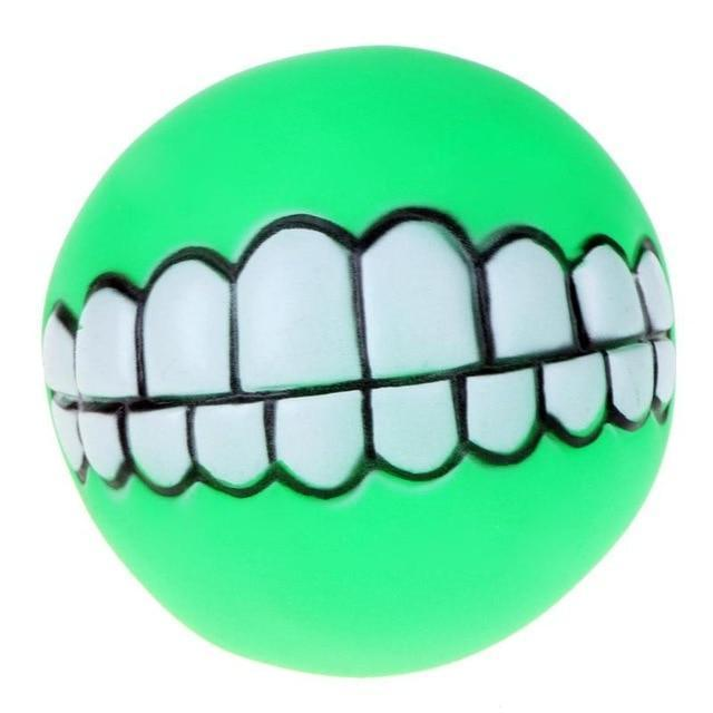 Chewy™ Dog Toy Ball With Teeth - Green / Buy 2 (Save 65%) - Dog Toy - Deal Builder