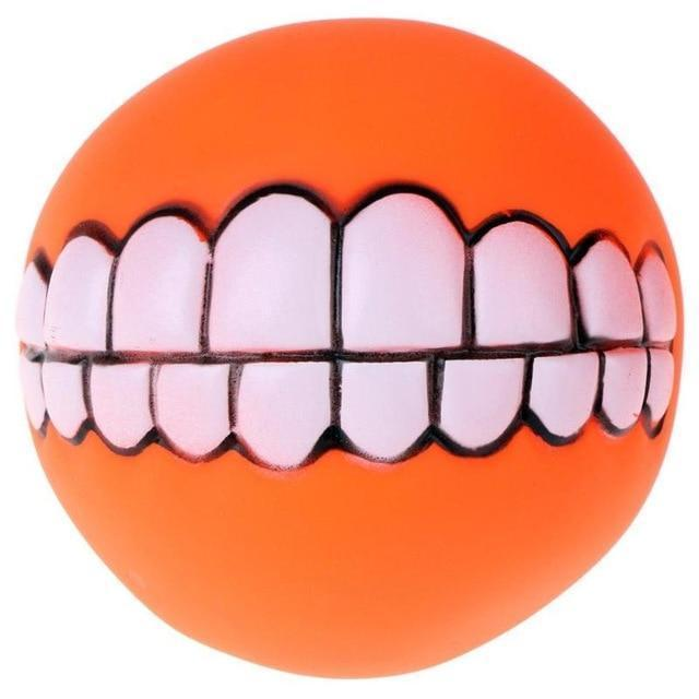 Chewy™ Dog Toy Ball With Teeth - Orange / Buy 1 - Dog Toy - Deal Builder