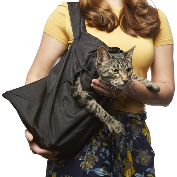 Comfy Cat Travel Pouch - Black / One Piece - Carriers & Strollers - Deal Builder