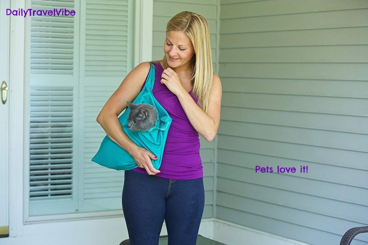 Comfy Cat Travel Pouch - Blue / One Piece - Carriers & Strollers - Deal Builder