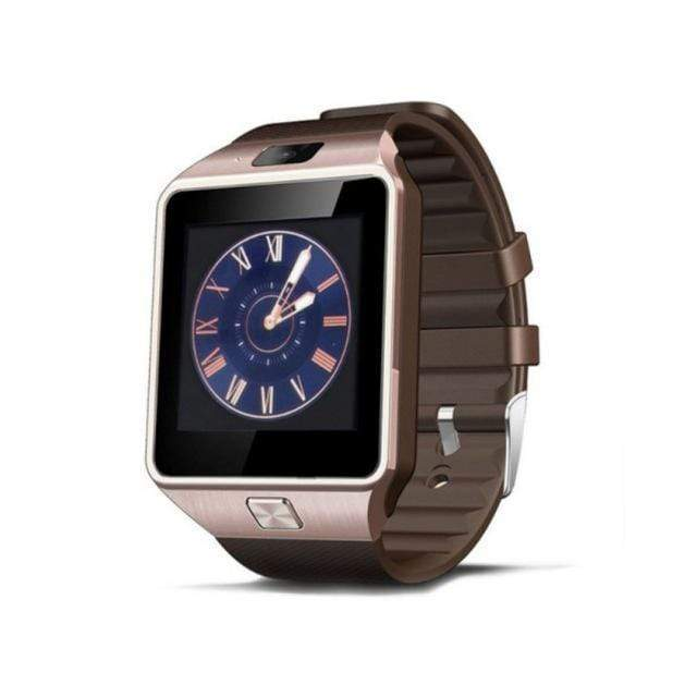 DZ09 Android and iOS Compatible Smart Watch - Gold - Mens & Women's Watches - Deal Builder
