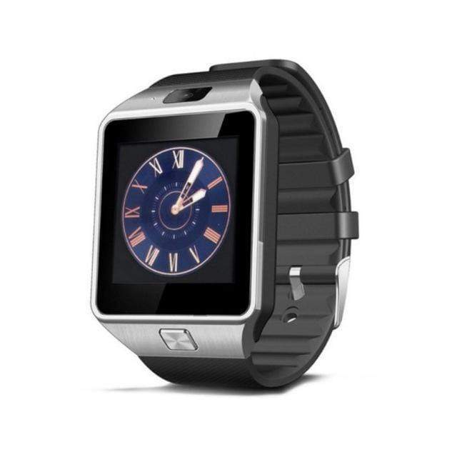 DZ09 Android and iOS Compatible Smart Watch - Silver - Mens & Women's Watches - Deal Builder