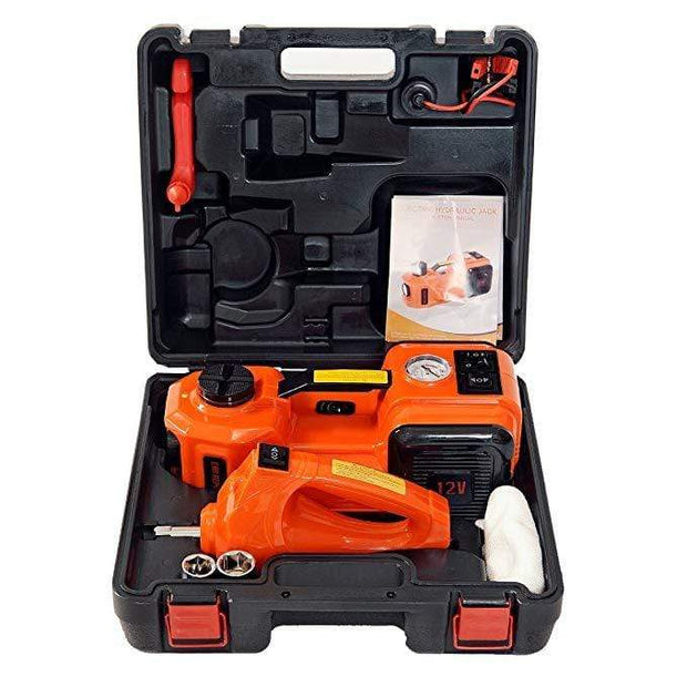 Deal Builder  -  Electric Hydraulic Floor Jack Car Repair Toolkit  -   -  Car Floor Jack