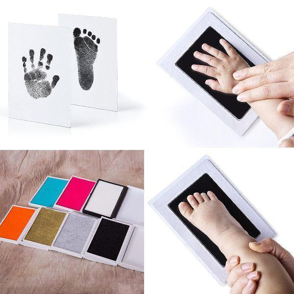 Inkless Baby Handprint and Footprint Memory Kit - - Hand & Footprint Makers - Deal Builder